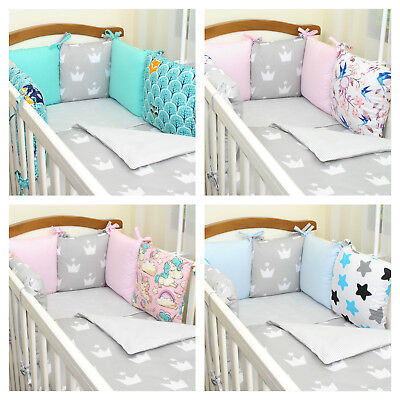 12 pieces bedding set/pillow bumper/modular protector/you will love it/cotton