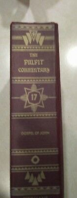 Pastors Pulpit Bible Commentary Volume 17 Gospel of John 1983