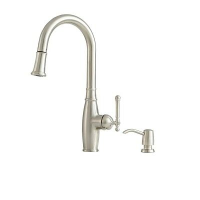 GIAGNI VIVACE STAINLESS Steel 1-Handle Deck Mount Pull-Down ...