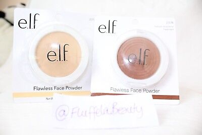 e.l.f. Cosmetics ELF Flawless Face Powder - Ivory / Toffee - BRAND NEW Sealed