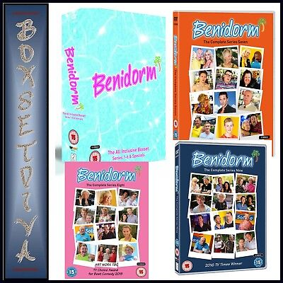 Benidorm - Complete Series 1 2 3 4 5 6 7 8 & 9 Collection ***Brand New Dvd***