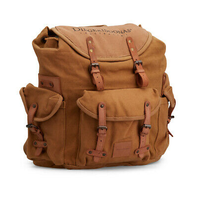 Didgeridoonas The Rucksack /Sturdy and rugged canvas / Coffee Colour