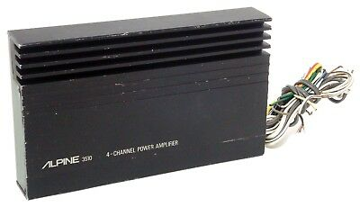 ALPINE 3513S 2 channel bridgeable Power Amplifier