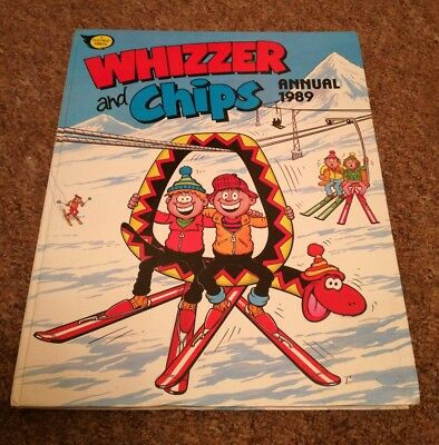 Whizzer And Chips Annual 1989 UK Comic Cartoons