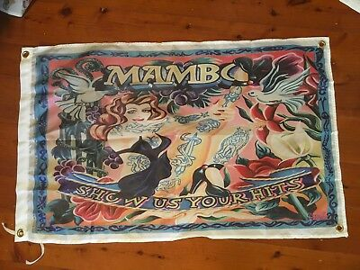 Mambo Aus art shed flag Mancave flag poster wallhanging print garage flag art