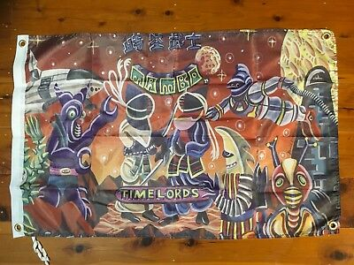 Mambo art Aussie time lords print  wallhanging Mancave flag shed poolroom poster