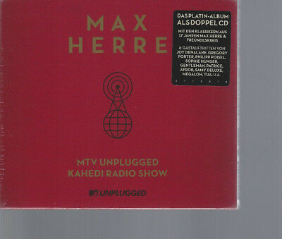 "MAX HERRE ""MTV Unplugged Kahedi Radio Show"" 2CD Slipcase sealed"