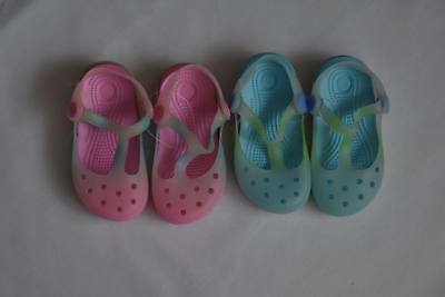 Infants Kids Girls Boys Jelly Shoes Beach Surf Pool Sandals Shoes