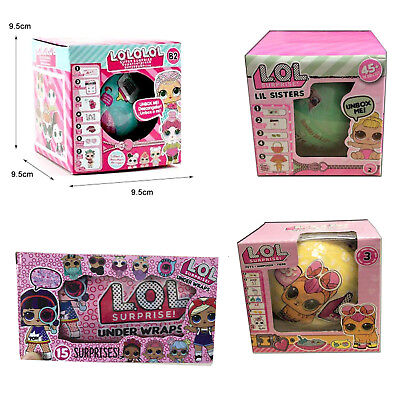 NEW LOL SURPRISE Dolls Lil Big Sisters Balls Series 2 Surprise Box Toy Kid Gifts