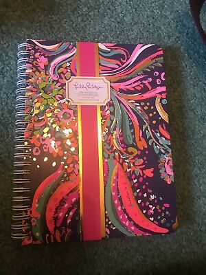 Lilly Pulitzer Mini Spiral Notebook, Beach Loot, NWT