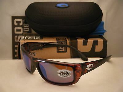 a56b6277f84b Costa Fantail Tortoise w Green 580G lens NEW Sunglasses (TF10 OGMGLP)