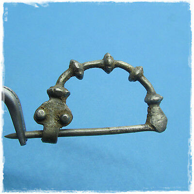 Ancient Celtic  Silver  Fibula !!!
