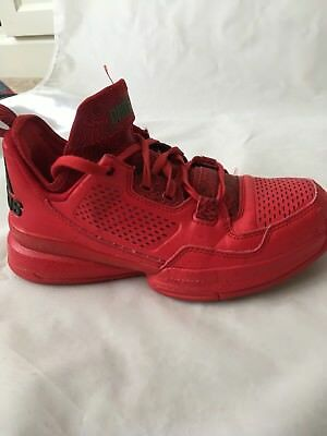 purchase cheap 56420 d2bc9 Boys Adidas Dame 1 Rose City Size 4