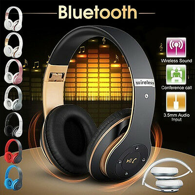 Bluedio Turbine Hurricane H Bluetooth 4.1 Wireless Stereo Headphones Headset FO