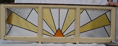Art deco leaded light stained glass windows. R638a. WORLDWIDE DELIVERY!!!