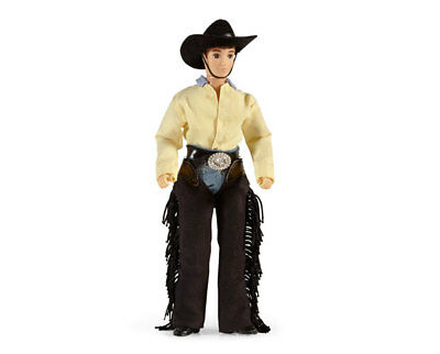 """Breyer New * Austin - 8"""" Cowboy * 536 Articulated Doll Traditional Model Horse"""