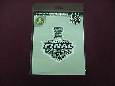2015 NHL Stanley Cup Final Jersey Embroidered Patch Emblem Worn by Both Teams