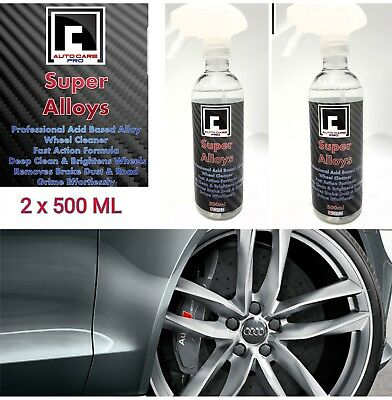 NEW Super Alloys Wheel Cleaner Acid Based Professional Strength High Performance