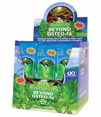 Lonestar Beyond Osteo fx Powder Stick Pack 30 Count Box by Youngevity