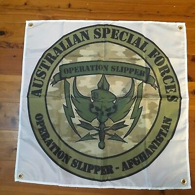 SAS australian army WW1 WW2 gun garage art garage man cave flag pool room bar