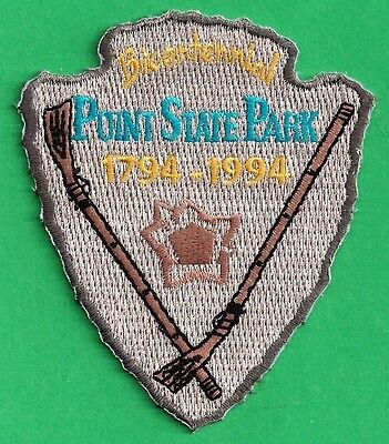 Pa Pennsylvania Fish Game Commission 1994 Point State Park Bicentennial Patch