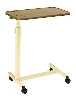 Overbed Table With Plastic Top Mobility Aid Bedroom Overbed Table Equipments
