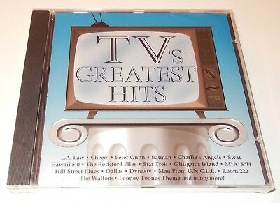 TV's Greatest Hits by Newton Wayland (CD, 1993) Intersound 8 Tracks NEW