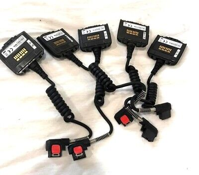 LOT OF-5-Zebra® ADPTRWT-RS507-04R Tethered Mod Corded Adapter for RS507 Scanner