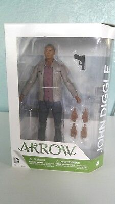 DC Collectibles: Arrow - John Diggle #9 - Action Figure 6 inch