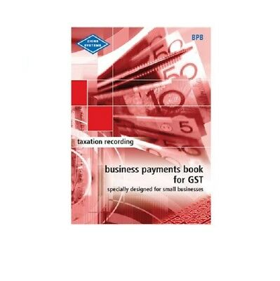 Zions Business Payments Book For GST 38075