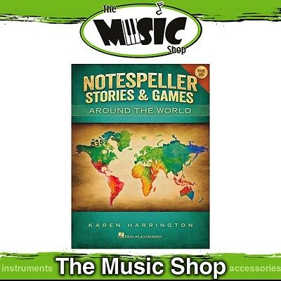 New Notespeller Stories & Games Around the World: Book 1 Piano Theory Book