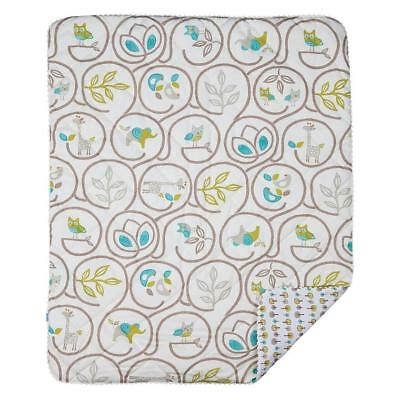Lolli Living Animal Tree Comforter Baby Cot Quilt Blanket