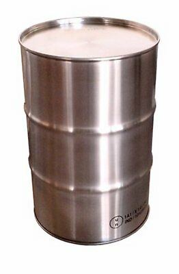 PREMIUM 205L 304 STAINLESS STEEL DRUM - FOOD GRADE - OPEN HEAD with CLAMP-ON LID