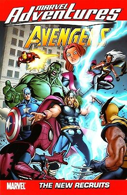 Marvel Adventures Avengers digest TP Vol 8 New Recruits Thor Hammerhead Griffin