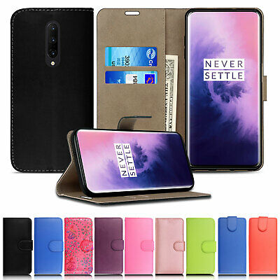 Wallet Leather Case Stand Card Magnetic Flip Cover For OnePlus 7 Pro,6T,5T,2
