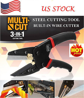 Cut 3 in 1 Power Cutting Tool With Built-In Wire Cutter - As Seen On TV US STOCK