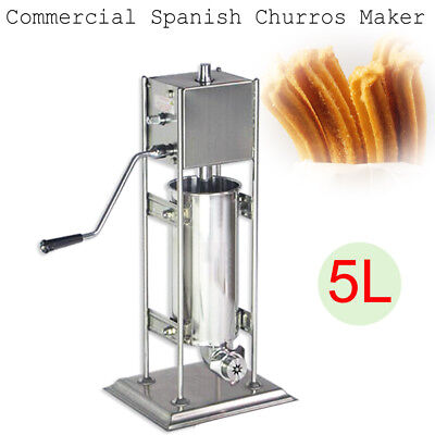 5L Commercial Manual Spanish Churro Donut Maker Machine High Quality Stainless