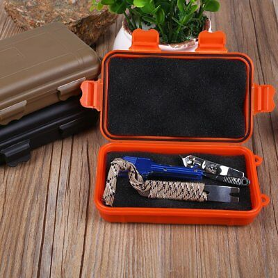 Outdoor Waterproof Tools EDC Boxes Survival Holder Storage Travel Case Container