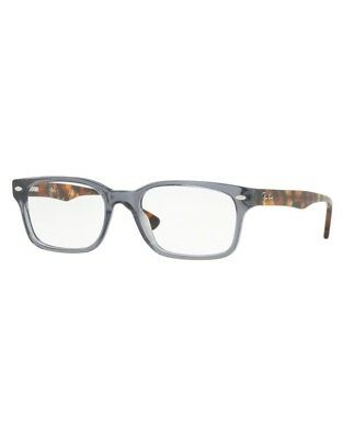d659985e56 EYEGLASSES RAY BAN RX7143 5620 53-18 Trasparent Grey - EUR 106