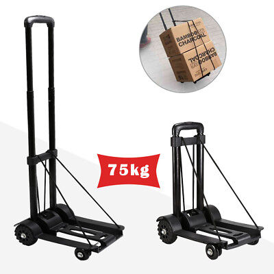 Heavy Duty Folding Truck Hand Sack Trolley Barrow Cart Platform Truck 75KG UK