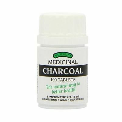 Braggs Medicinal Charcoal Tablets Pl - R 100Tabs (6 Pack)