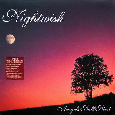 Nightwish - Angels Fall First - Deluxe Double Album Black/red Virgin Vinyl - Lp