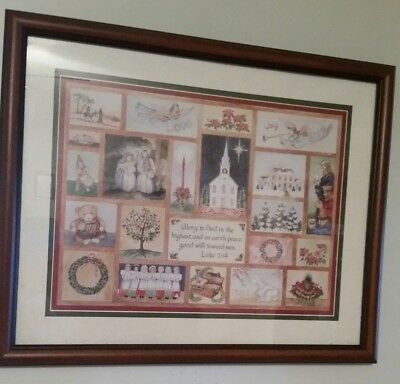 Homco 5 Christmas Angel With Wreath Cad Picclick Ca
