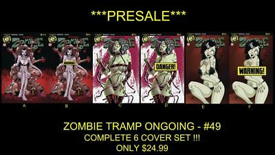 Zombie Tramp -Ongoing-#49 -*full 6 Cover Set* !!! Pre-Sale !!! **new Acton Lab**
