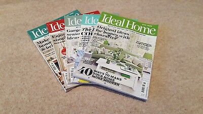 5 Ideal Home Magazines - Jan to May 2017