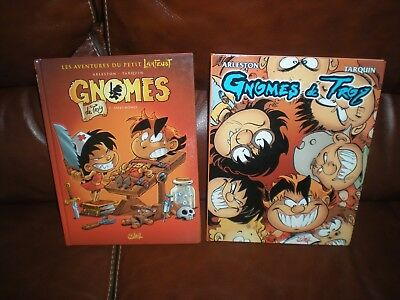 Gnomes De Troy - Lot Des 2 Premiers Tomes En Editions Originales