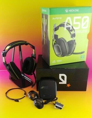 Astro A50 Wireless Gaming Headset for Xbox One Dolby Pro Logic IIx Black #0Zapro