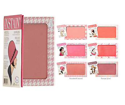 Genuine The Balm INSTAIN Long Wearing Powder Blush Stain - All Shades UK Seller