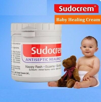 Sudocrem Cream Antiseptic Healing Nappy Rash Burns Acne 60g / 125g
