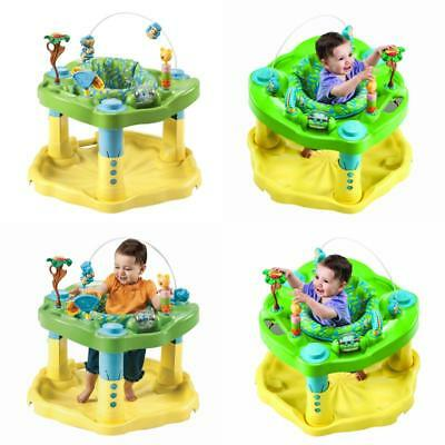 f78b6f6f9 EXERSAUCER BABY BOUNCER Jumper Learning Activity Zoo Center Boy ...